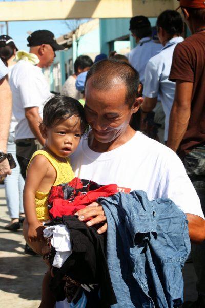 Tanauan father smiling